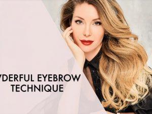 Powderful Eyebrow Technique